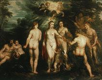 P.P.Rubens, Urteil des Paris / London von AKG  Images