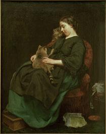 L.Knaus, Die Katzenmutter von AKG  Images