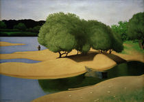 F.Vallotton, Sandbaenke an der Loire by AKG  Images