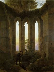 C.D.Friedrich, Huttens Grab / 1823-24 by AKG  Images