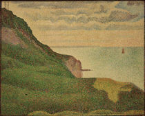 G.Seurat, Kuestenlandschaft... by AKG  Images