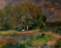 A.Renoir, Bluehender Kastanienbaum von AKG  Images