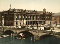 Berlin, Boerse / Foto 1898 von AKG  Images