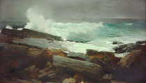 Winslow Homer, Sturmgepeitscht by AKG  Images
