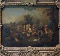 A.Watteau, Biwak by AKG  Images