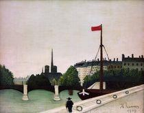 H.Rousseau, Blick .. auf Ile Saint Louis by AKG  Images