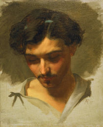 Anselm Feuerbach, Selbstbildnis 1857 by AKG  Images
