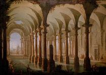 G.P.Pannini, Roemisches Bad von AKG  Images