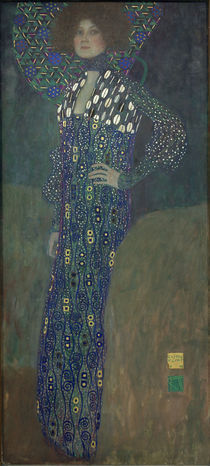 G.Klimt, Fraeulein Emilie Floege by AKG  Images
