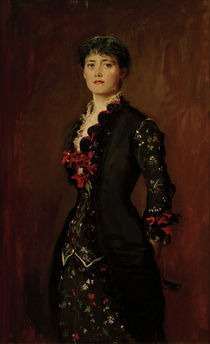 Louise Jopling / Gemaelde von Millais von AKG  Images