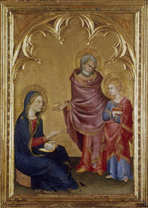 Simone Martini, 12jaehiger Jesus im Temp. by AKG  Images