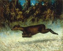 G.Courbet, Springendes Reh von AKG  Images