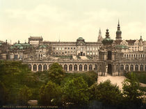 Dresden, Zwinger / Photochrom by AKG  Images