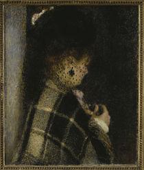A.Renoir, Frau mit Schleier by AKG  Images