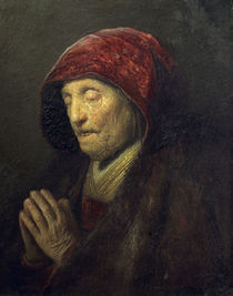 Rembrandt, Betende alte Frau by AKG  Images