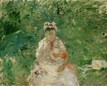 B.Morisot, Amme mit Kind (Julie Manet) by AKG  Images