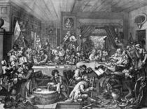 Hogarth, An Election Entertainment by AKG  Images