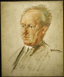 Gerhart Hauptmann / Gem.v.Liebermann by AKG  Images