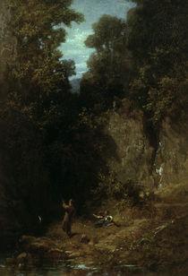 C.Spitzweg, Der Angler/ um 1875 von AKG  Images