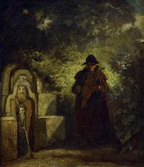 C.Spitzweg, Der Brunnengast von AKG  Images
