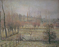 C.Pissarro, Rauhreif, Morgen...Eragny von AKG  Images