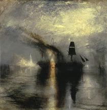W. Turner, Beisetzung auf See by AKG  Images