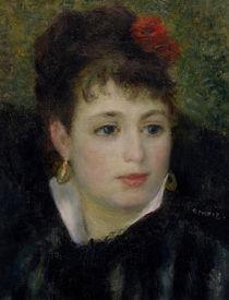 A.Renoir, Frau mit Rose by AKG  Images