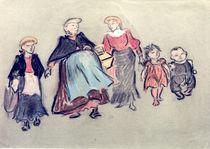 H.Zille, Mutter und Kinder von AKG  Images