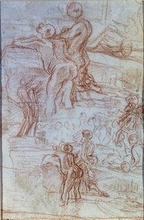 Bernini/Zuhoerende/Predigt Joh.Taeufer1664 by AKG  Images