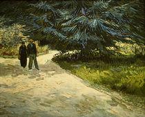 V.van Gogh, Paar im Park von Arles von AKG  Images