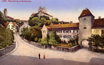 Meersburg, Stadtansicht /Photochrom 1905 by AKG  Images