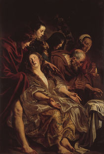 Jacob Jordaens, Angehoerige Christi a.Gr. von AKG  Images