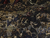 Tintoretto, Paradies, Ausschnitt by AKG  Images