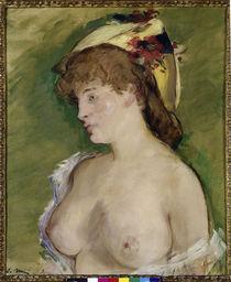 Manet/Blonde mit entbloessten Bruesten/1878 by AKG  Images