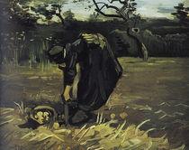 v.Gogh, Kartoffelgrabende Baeuerin von AKG  Images