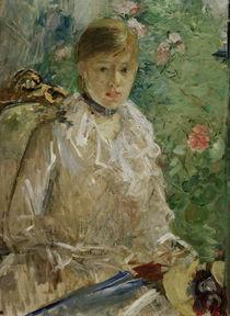 B.Morisot,Junge Frau am Fenster (Sommer) by AKG  Images