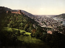 Heidelberg / Photochrom um 1900 von AKG  Images