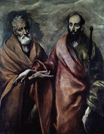 El Greco, Petrus und Paulus by AKG  Images