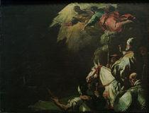 Leo I. tritt Attila entgegen/ L.Giordano von AKG  Images