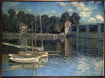 C.Monet, Die Bruecke von Argenteuil von AKG  Images