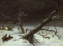 C.D.Friedrich, Winterlandschaft / 1811 von AKG  Images