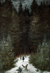C.D.Friedrich, Chasseur im Walde/1814 by AKG  Images