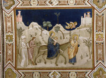 Giotto, Flucht nach Aegypten / Assisi by AKG  Images