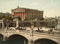 Berlin, Alte Nationalgalerie / Foto 1898 von AKG  Images