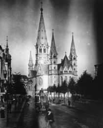 Berlin, Gedaechtniskirche / Foto um 1900 by AKG  Images