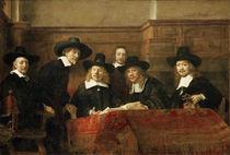 Rembrandt, Die Staalmeesters by AKG  Images