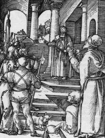 Duerer, Christus vor Pilatus/ Kl.Passion von AKG  Images