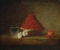 J.B.S. Chardin, Der Erdbeerkorb von AKG  Images