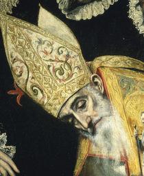 El Greco, Begraebnis Orgaz, Augustinus by AKG  Images