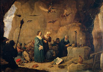 Teniers, Versuchung des Hl.Antonius von AKG  Images